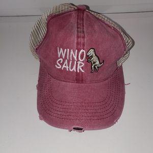 Wino saur baseball hat